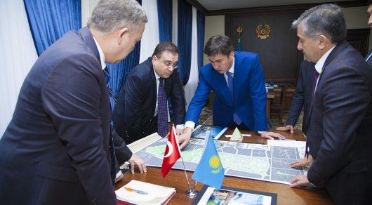 Шымкент әкімі Германия мен Түркиядан келген делегацияны қабылдады