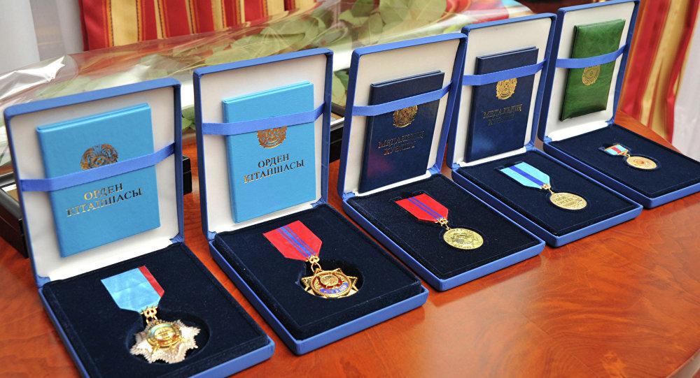 медаль, мемлекеттік орден