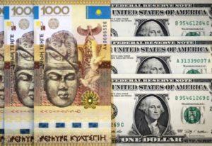 теңге доллар