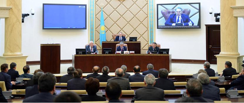 Серік Сыдықов сенат аппараты