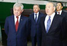 Бердібек Сапарбаев Нұрсұлтан Назарбаев