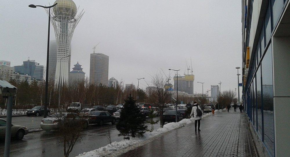 Астана жауын