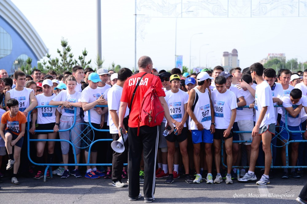 Шымкент марафон