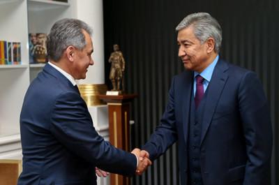 Сергей Шойгу мен Иманғали Тасмағамбетов