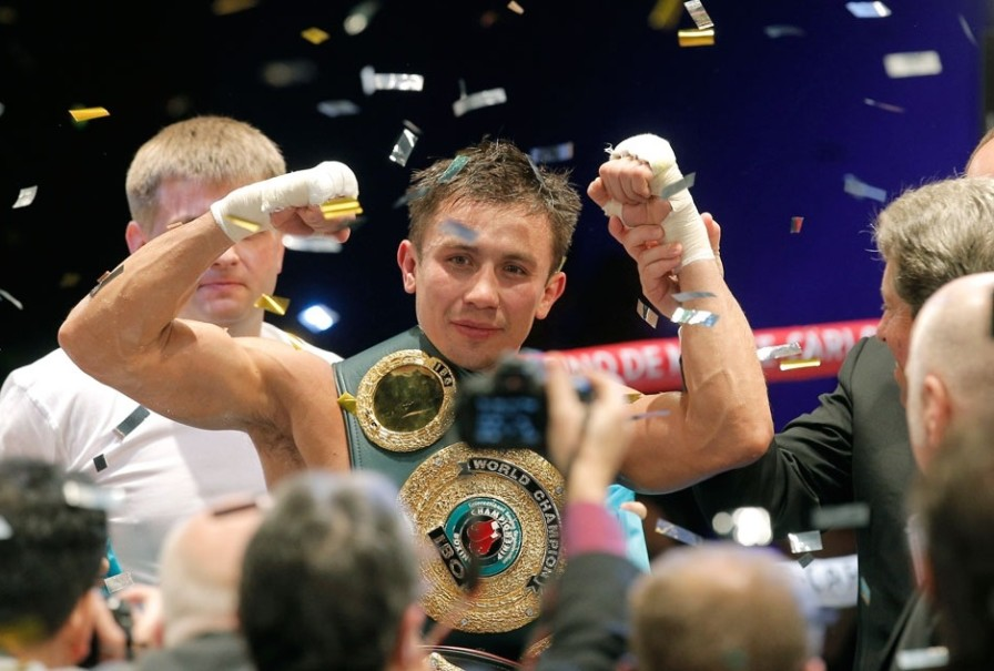 Геннадий Головкин чемпион