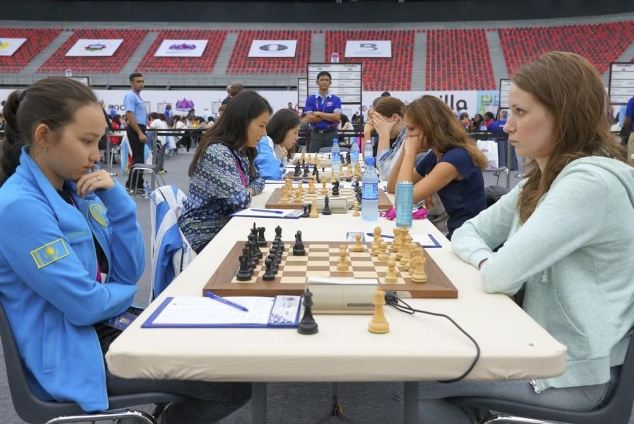 шахмат, Жансая Әбдімәлік