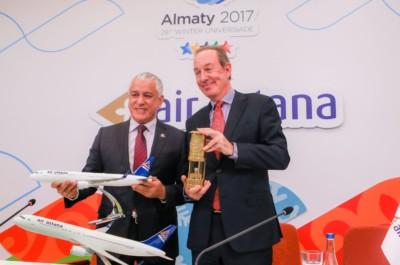 Эйр Астана Air Astana