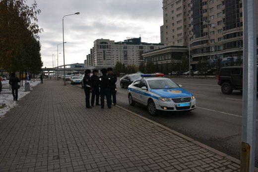 Астана, полиция