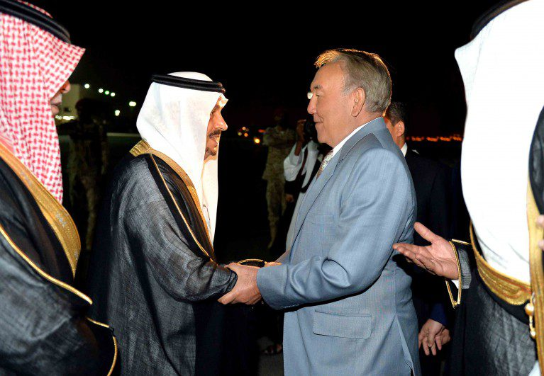 Нұрсұлтан Назарбаев Сауд Арабиясы Корольдігінде