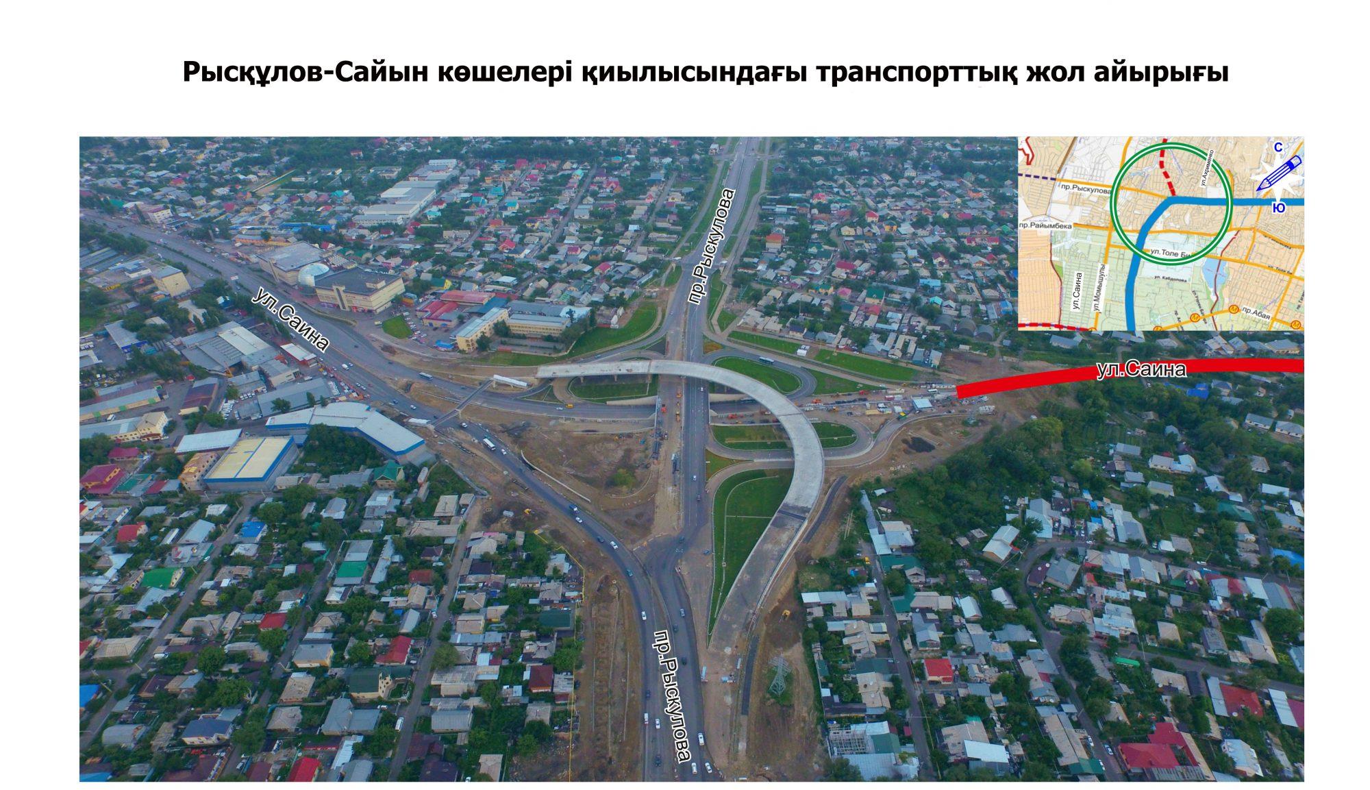 Көлік жолдары Алматы