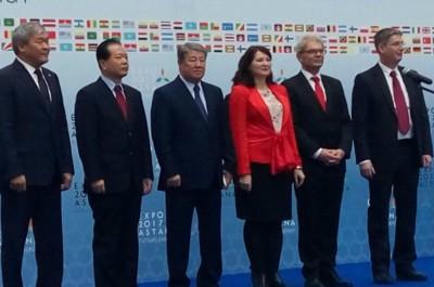 Астана ЭКСПО-2017 Ахметжан Есімов