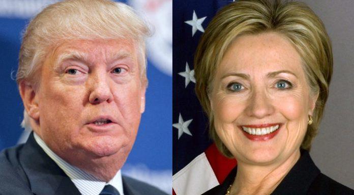 Дональд Трамп, Хиллари Клинтон