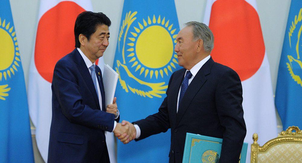 Назарбаев Жапония
