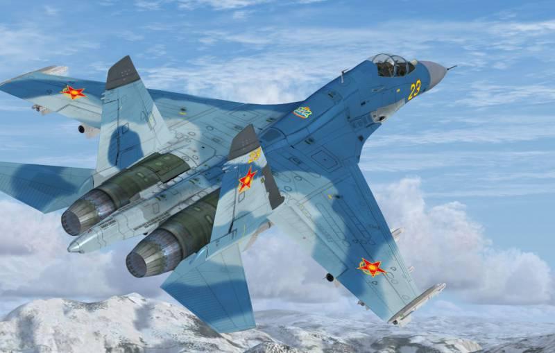 Су-27 ұшағы