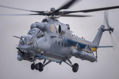 Ми-35М тікұшағы