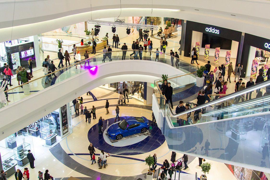 Торговый центр в Алматы сауда нүктелері
