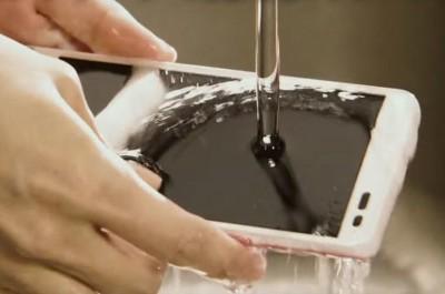 Жуылатын смартфон