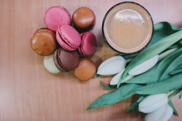 Кофе печенье