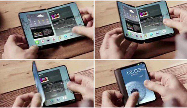 Бүктемелі смартфон