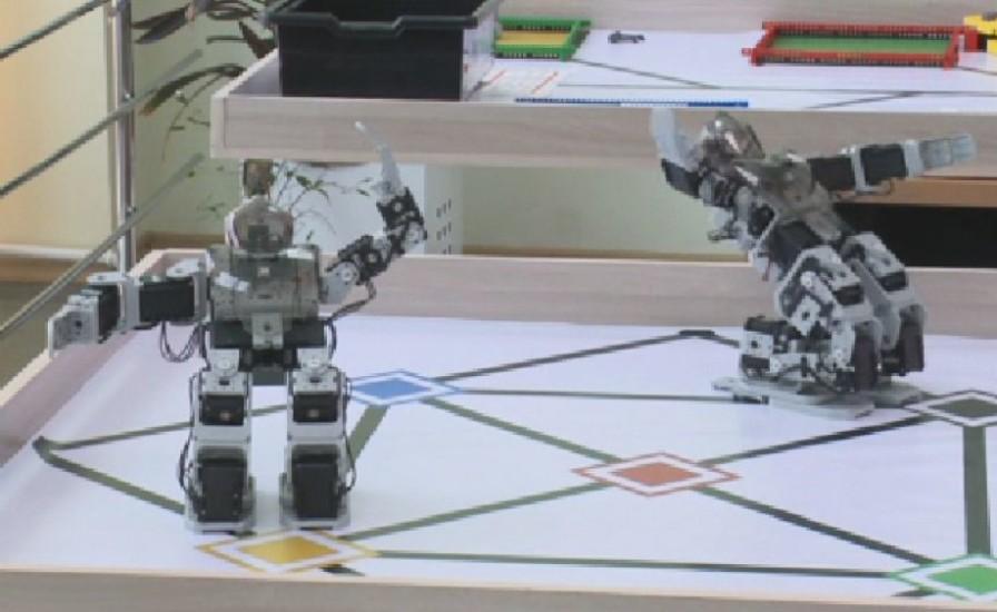 Қара жорға, робот