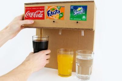 Сусын құю, Кока-кола