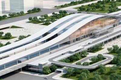 Астана, Нұрлы жол вокзалы