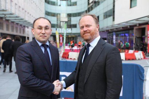 Дәурен Абаев, BBC
