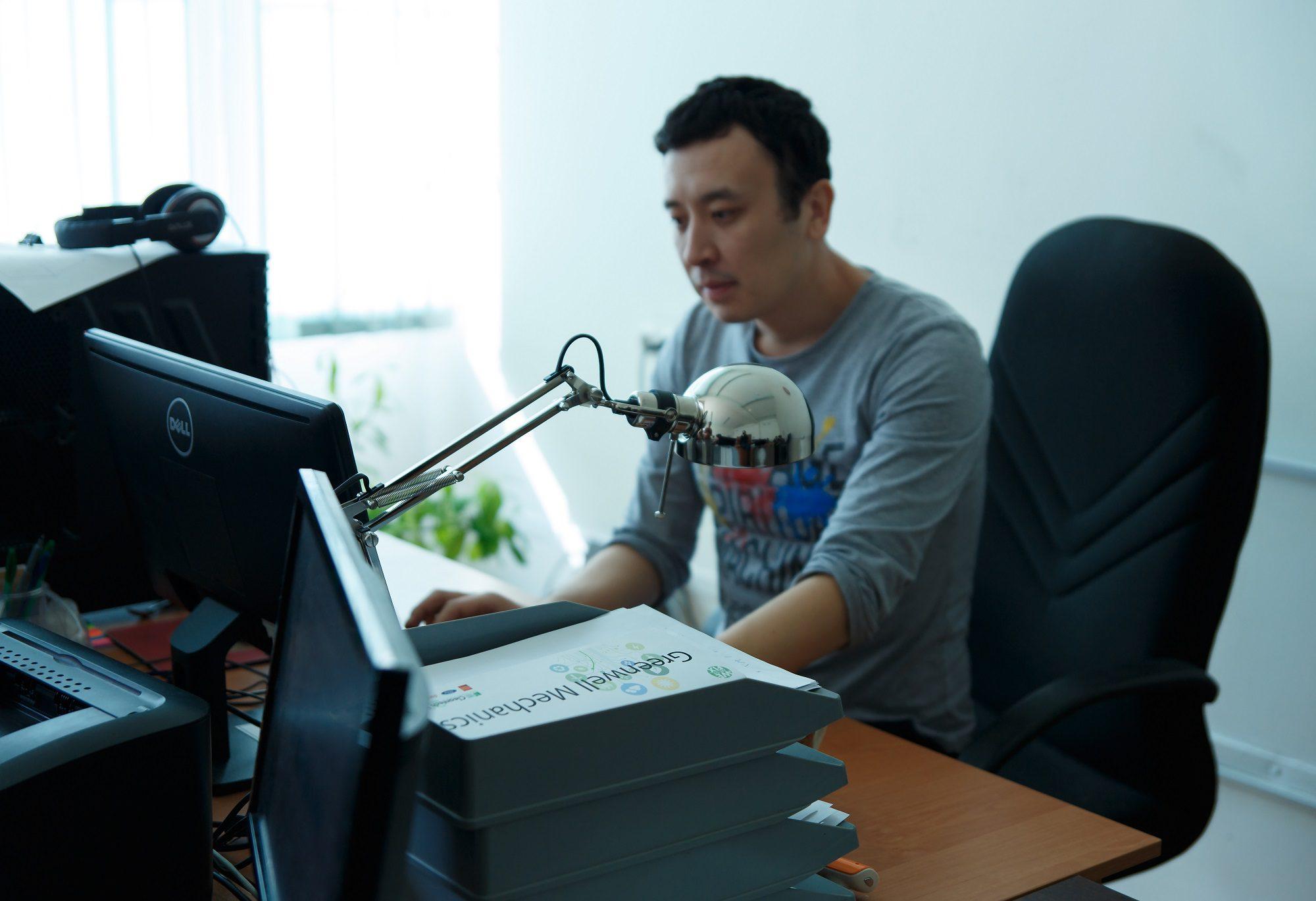 Бақытжан Ахметов, жас ғалым. ©SZH.kz