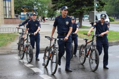 ШҚО, Полиция, велосипед