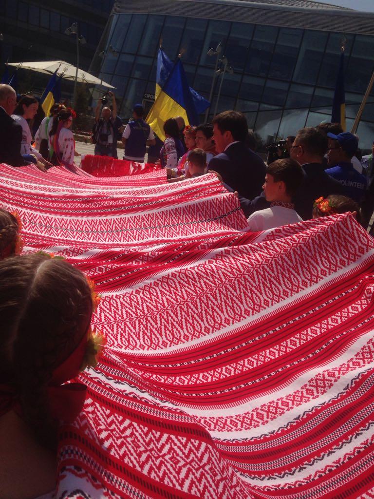 Украина, Сүлгі, ЭКСПО