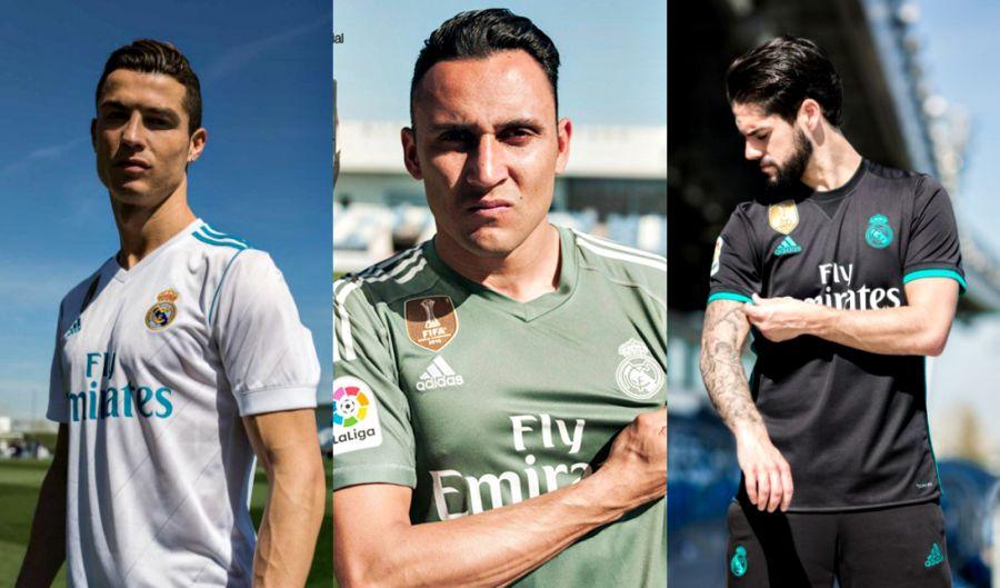 Реал Мадрид, жаңа экпировка