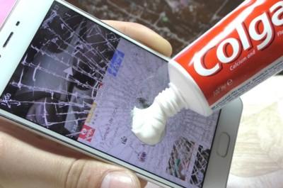 Смартфонның экранын тазалау