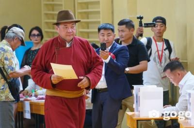 Моңғолия Президент сайлауы