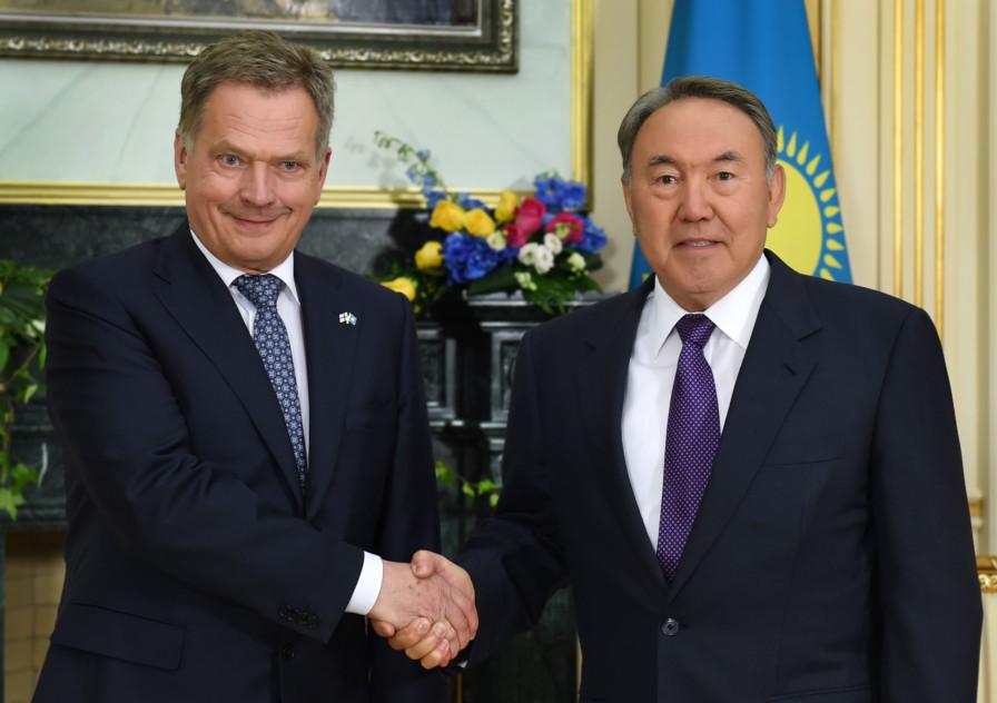 Қазақстан мен Финляндия Президенттері