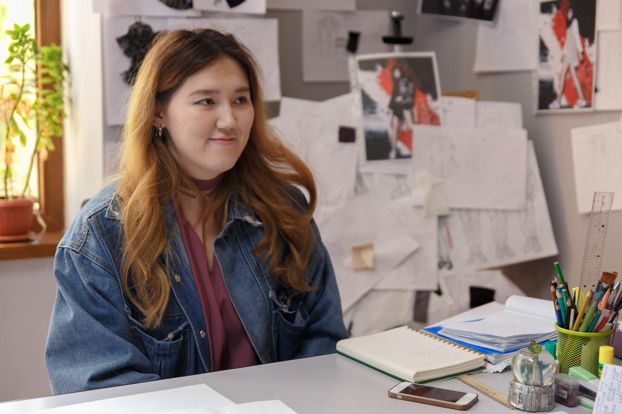 Ақбота Багытжан, жас кәсіпкер, дизайнер