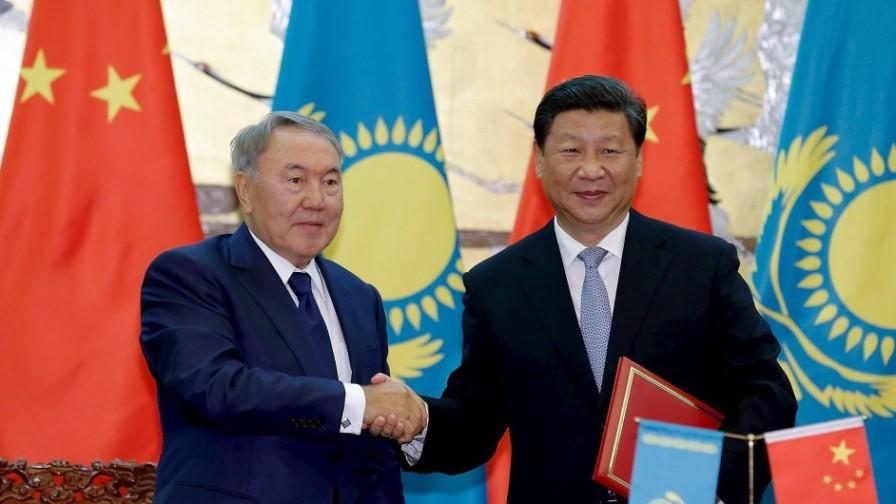 Си Цзиньпин, Назарбаев