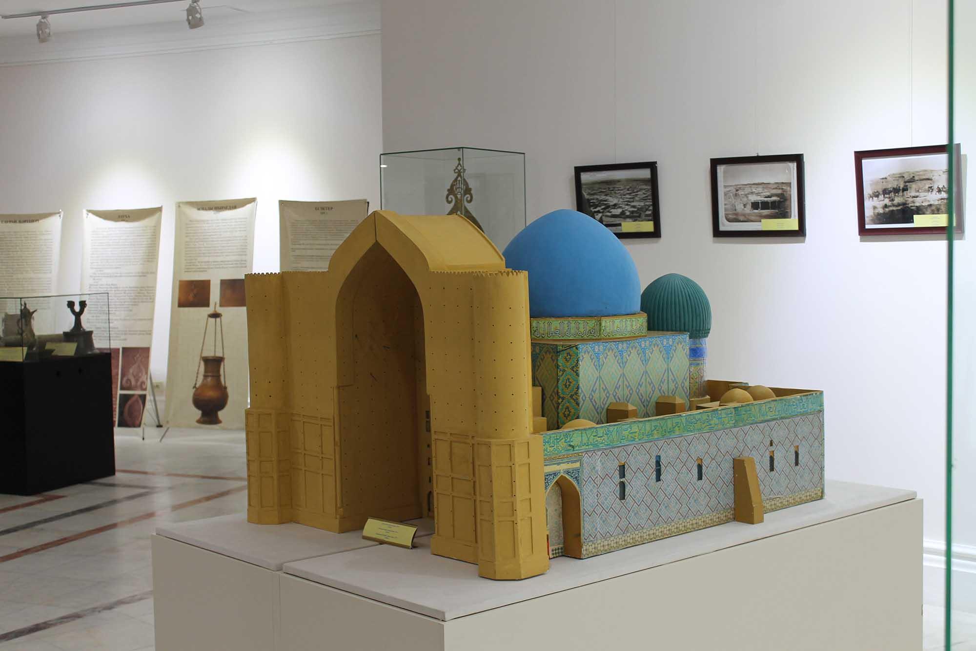 Қожа Ахмет Ясауи кесенесінің макеті