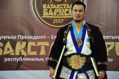 Еламан Ерғалиев, Қазақстан барысы 2017