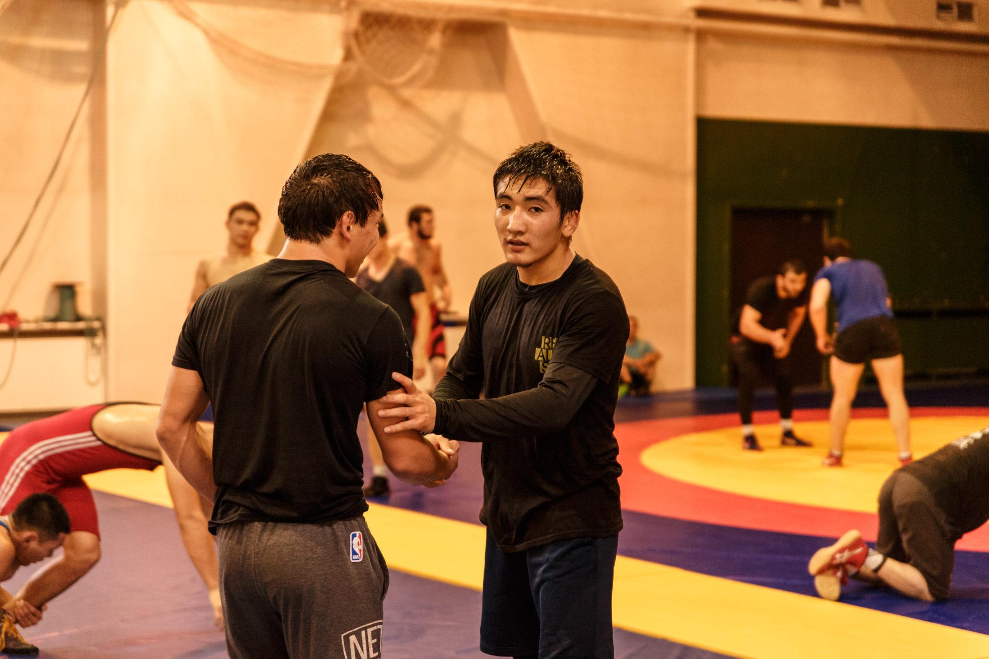 Дархан Есенғали, еркін күрес, Алматы күрес федерациясы