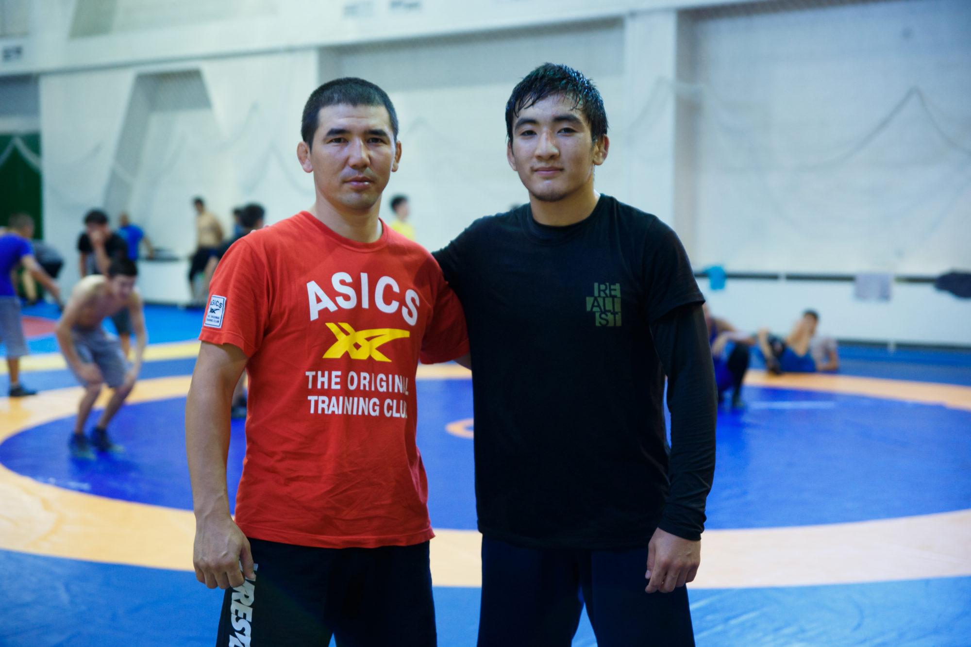 Роллан Кешубаев, Алматы қаласы күрес федерациясы