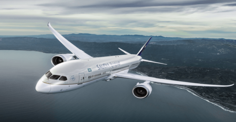 Saudia Airlines ұшағы