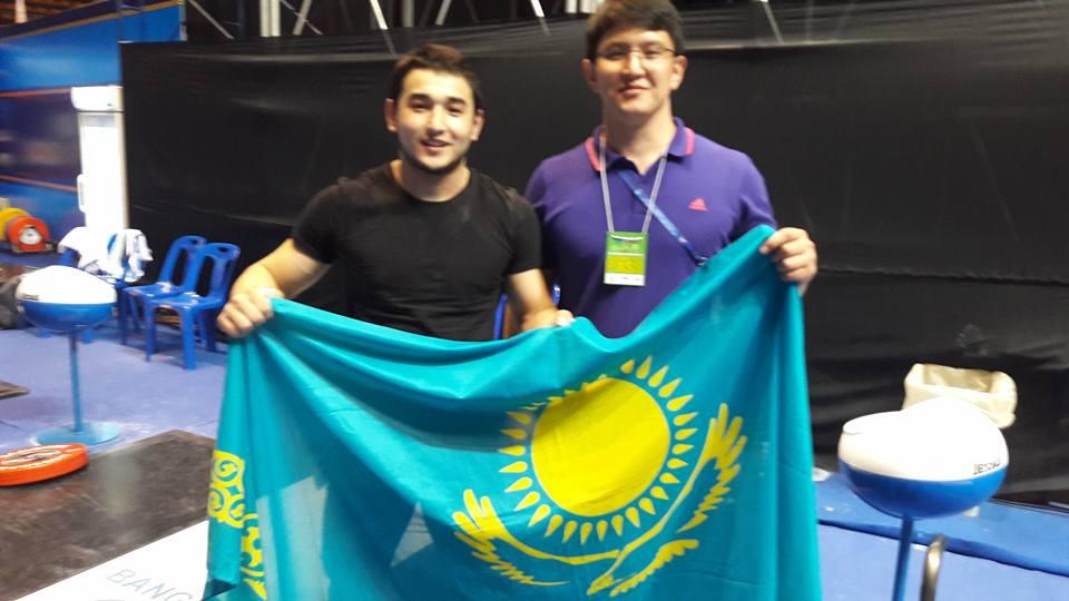 Асылжан Бектай, Айбол Кульбаев, ауыр атлетика