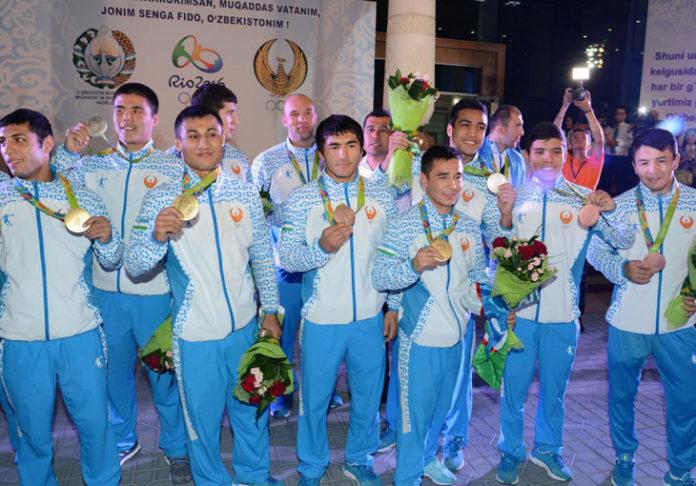 Өзбек спортшылары