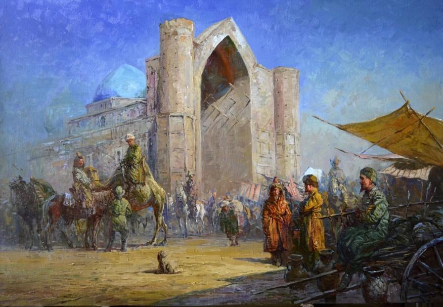Түркістан, қазақ