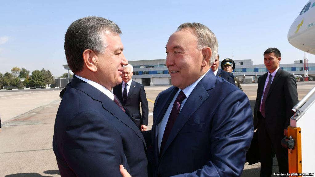 Шавкат Мирзияев пен Нұрсұлтан Назарбаев