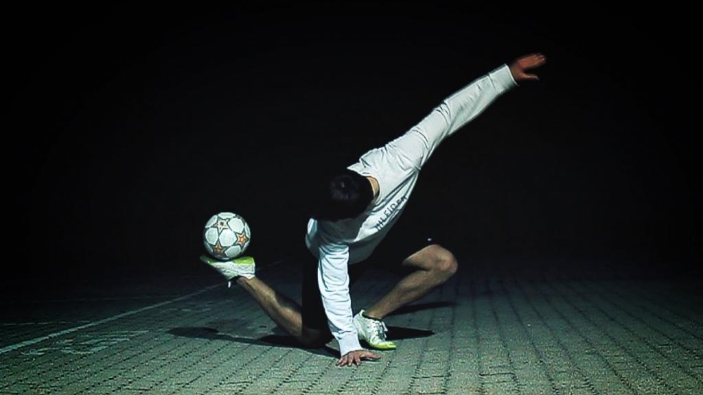 Футбол фристайлы