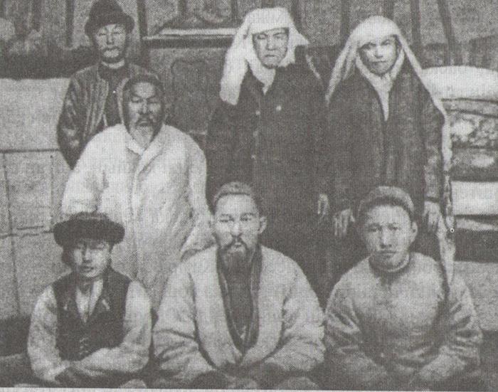 Абай Құнанбаев, отбасымен