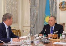Н.Назарбаев пен А.Есімов