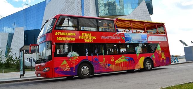Астана автобус Red Bus