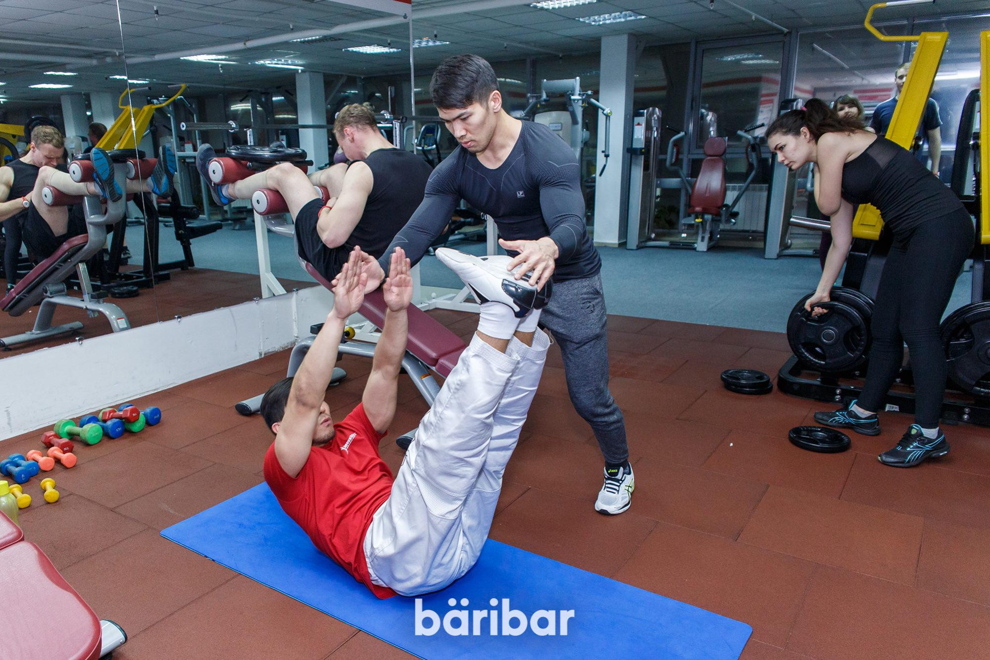 Ақбар Жармағанбетов, бодибилдингтен спорт шебері, фитнес жаттықтырушы